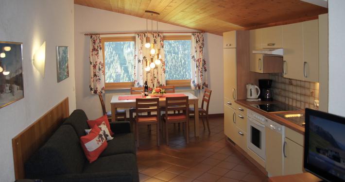 Ferienhaus-Spiss-Kappl-Ischgl-Paznauntal-Wohnung A