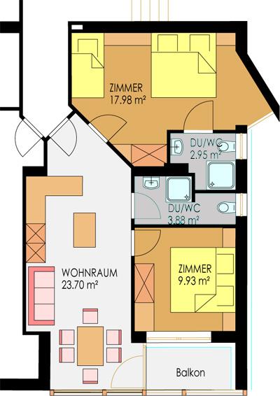 Ferienhaus-Spiss-Kappl-Ischgl-Paznauntal-Grundriss-Wohnung